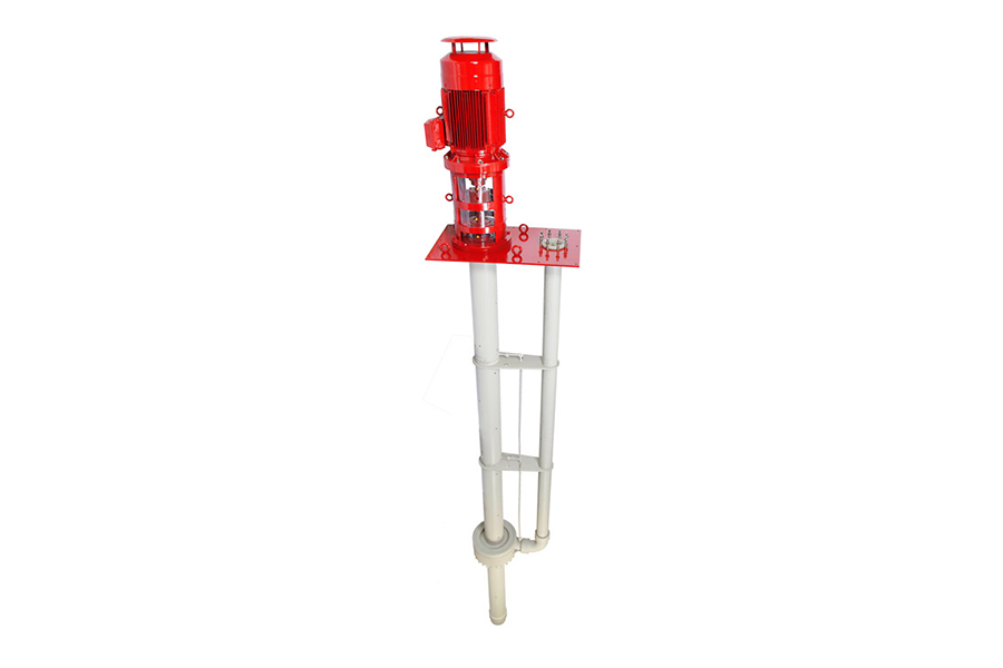 Vertical anti corrosive pump
